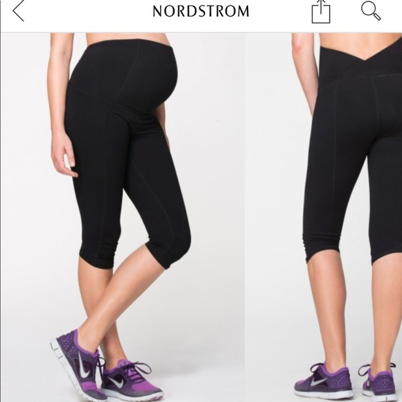e674aa4604840 Ingrid & Isabel Pants - Ingrid & Isabel Maternity Knee length active pant
